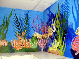 underwater sea life mural by jayme lord via behance walls underwater sea life mural by jayme lord via behance walls pinterest underwater lord and behance