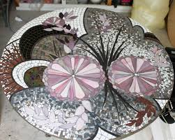 meuble design japonais table ronde en mosaïque u0027esprit japonais u0027 mosaics and craft