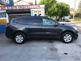 chevrolet traverse blue used 2015 chevrolet traverse ls suv 16 690 00