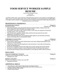 A Teacher Resume Examples by Amusing Teacher Resume Examples With Food Service Resume