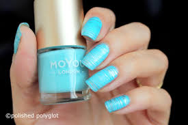 nail art aqua blue nail design for summer 26gnai polished