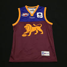 Fantasy Football Chion Meme - brisbane lions afl football russell athletic 2003 jumper guernsey