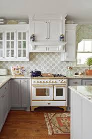 antique white kitchen cabinets with subway tile backsplash 21 tile backsplash ideas for the range that add a