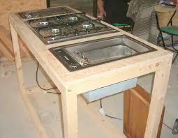 comment construire un ilot central de cuisine comment faire un ilot central cuisine affordable lulot central la