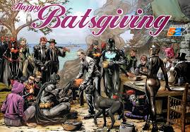 the daily zombies a batman thanksgiving