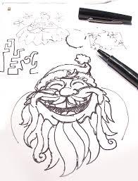 create jolly santa vector illustration