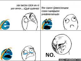 Memes De Internet - memes que te recordar磧n por qu礬 internet explorer 8 9 y 10