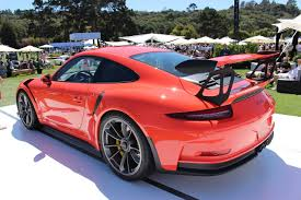 porsche 911 2016 2016 porsche 911 gt3 rs surfaces at pebble beach during monterey