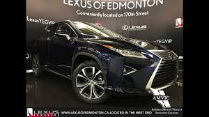 lexus luxury 2017 2017 blue lexus rx 350 awd luxury walkaround review west