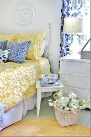 blue yellow bedroom blue and yellow farmhouse bedroom thistlewood farms farming and