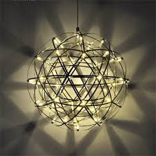 Suspension Luminaire But by Aliexpress Com Buy 110 220v Led Stainless Steel Modern Star