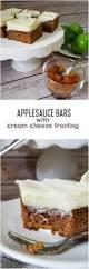 Cream Cheese Frosting Ina Garten by Applesauce Bars With Cream Cheese Frosting U2013 Rumbly In My Tumbly