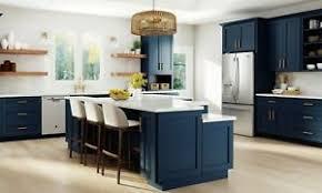 blue kitchen cabinets details about fully assembled 10x10 modern nassau mythic blue kitchen cabinets shaker navy