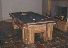 build a pool table how to build a pool table rustic style diy projects pinterest