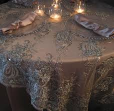 cheap lace overlays tables top ivory lace table overlay 60 inch round regarding tablecloth