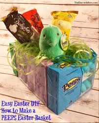 peeps easter basket thm peepseaster peepsbasket peepsplush the harried