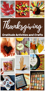 thanksgiving thanksgiving gratitude activities and crafts