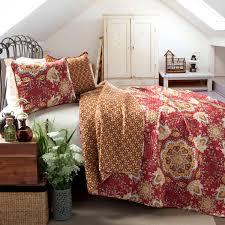 lush decor addington 3 piece quilt set free shipping today