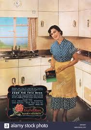 publicité cuisine 1951 la publicité pour l équipement de cuisine en anglais banque d