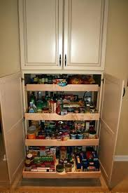 Food Storage Cabinet How To Build A Food Pantry Cabinet Big Kitchen Pantry Storage