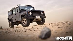lexus v8 in land rover defender land rover defendermotoring middle east car news reviews and