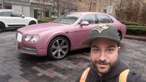 pink bentley downtown toronto and new pink bentley youtube