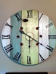 Pottery Barn Outdoor Clock Make A Wood Clock Like Those From Pottery Barn For Only 10 Diy