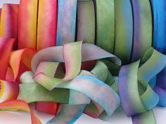hanah silk ribbon a hanah dyed silk ribbon collectionhand dyed by mermaidsbeads