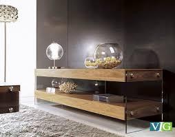Modern Furniture Tv Table Aura Modern Walnut Floating Tv Stand