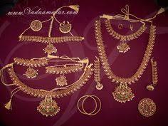 size bharatanatyam jewellery set http www vadaamalar