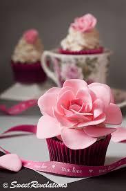 how to make an open rose cupcake topper jessica harris cake design