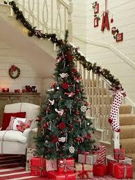 Christmas Railing Decorations Beautiful Christmas Stair Decorations