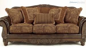 antique sofa set designs fresco durablend antique living room collection from signature
