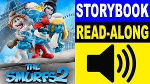 smurfs story book smurfs 2 storybook