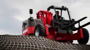 manitou tmt truck mounted forklift youtube