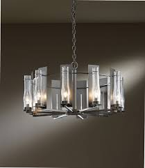 New Chandelier Hubbardton Forge 103290 New Town 30 Wide Chandelier Lighting