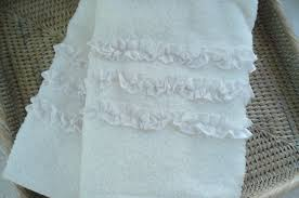 Simply Shabby Chic Bathroom Accessories by Such Pretty Things Target Tuesday Ruffled Hand Towels