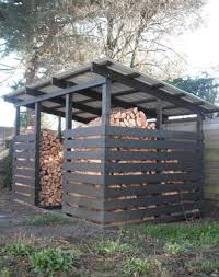 Outdoor Firewood Shed Plans by Best 25 Wood Shed Ideas On Pinterest Wood Store Shed Storage