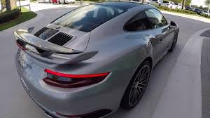 grey porsche 911 turbo 2017 gt silver porsche 911 turbo 540 hp porsche west broward