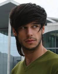 hairstyle men with long straight hair straight hair is popular