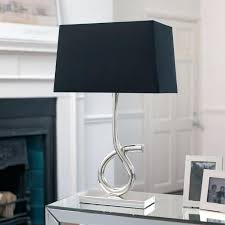 Tall Lamp Shades For Table Lamps Table Lamps With Black Shades U2013 Thelt Co