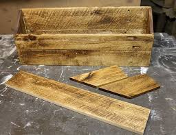 diy wood desk organizer mail sorter hometalk