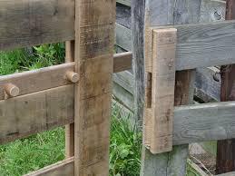 Fence Backyard Ideas by Best 25 Wood Fence Gates Ideas On Pinterest Gate Ideas