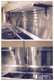 commercial kitchen backsplash furniture stainless steel kitchen backsplash and kitchen sinks