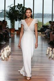 wrap wedding dress the 11 most beautiful bridal trends for fall 2018 fashionista
