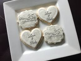 50th wedding anniversary party favors 96 best anniversary cookies images on pinterest decorated