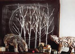 lighted birch tree roost lighted birch grove modish store