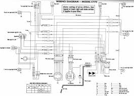 1981 honda ct70 wiring diagram honda wiring diagram schematic