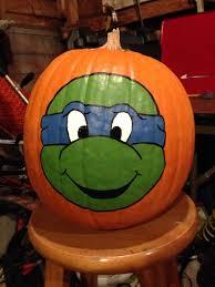 ninja turtle pumpkin ideas