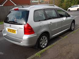 peugeot 307 sw used 2005 peugeot 307 sw sw s for sale in st leonards on sea east